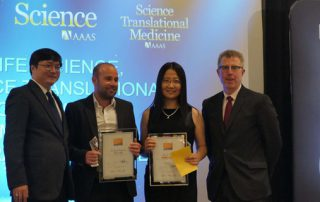 Award honors Chinese American for cellular science research
