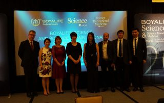 First Boyalife, Science & Science Translational Medicine Award Ceremony Held in San Francisco